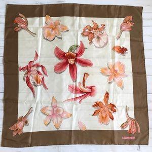 "Tiffany & Co. Vintage silk scarf 34"" Italy"
